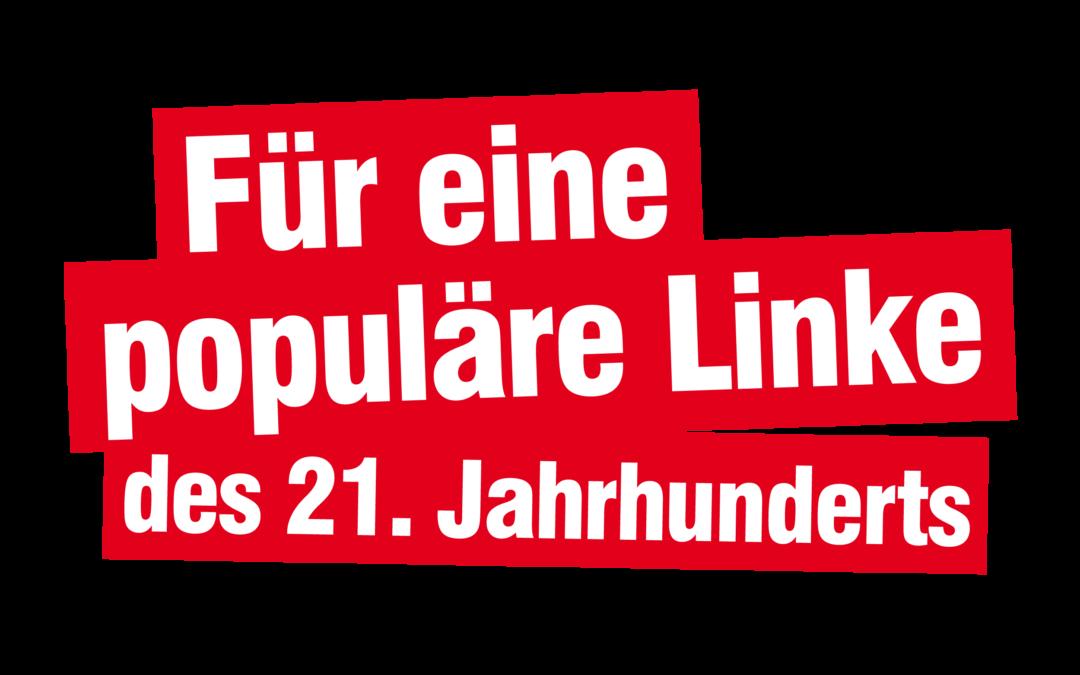 Flyer: Für eine Populäre Linke des 21. Jahrhunderts