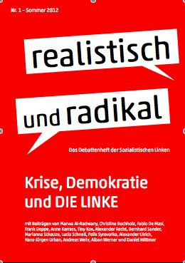 """Debattenheft 2012: """"Krise, Demokratie und DIE LINKE"""""""