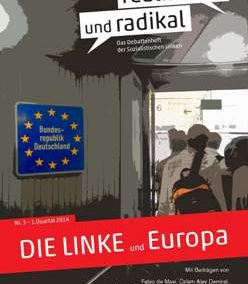 """Debattenheft 2014: """"DIE LINKE und Europa"""""""
