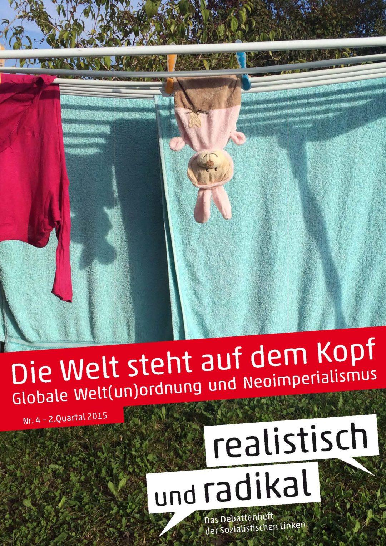"""Debattenheft 2015/1: """"Die Welt steht auf dem Kopf"""""""